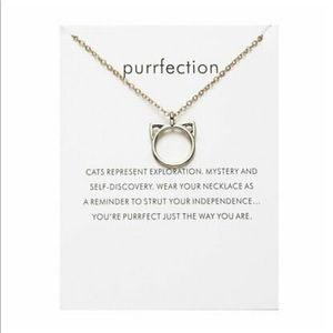 😽 Purrfection Cat Necklace 😽